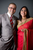 Wschodnia Indiańska Para Zdjęcie Royalty Free