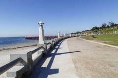 Wschodnia Plażowa Pływacka klauzura zdjęcia royalty free