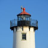 Wschodnia punkt latarnia morska, przylądek Ann, Massachusetts Obraz Royalty Free