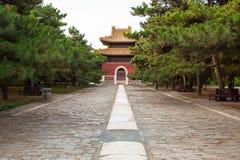 Wschodnia Qing mauzoleumów Cian mauzoleumu sceneria Obraz Royalty Free