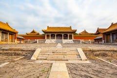 Wschodnia Qing mauzoleumów Cian mauzoleumu sceneria Fotografia Royalty Free
