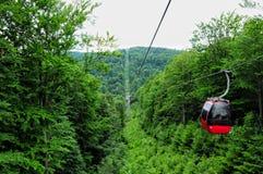 Wschodnie Europe Beskids góry Południe Polska Jaworzyna Kryn Zdjęcia Stock