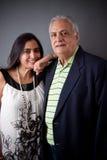 Wschodniego indianina córka i ojciec Zdjęcie Stock