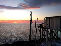 Wschodu słońca calmness Zdjęcie Stock