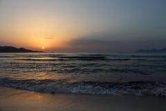 Wschodu słońca czas Zdjęcia Royalty Free