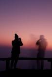 Wschodu słońca głąbik Zdjęcie Royalty Free