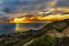 Wschodu słońca krajobraz Fotografia Royalty Free
