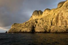 Wschodu słońca Maleplo wyspa Kolumbia Obrazy Stock