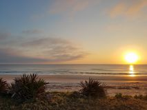 Wschodu słońca ocean Obrazy Royalty Free