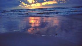 Wschodu słońca odbicie Zdjęcia Royalty Free