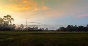 Wschodu słońca park narodowy Obrazy Royalty Free