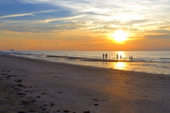 Wschodu słońca ranek Obrazy Royalty Free