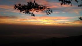 Wschodu słońca ranek Zdjęcia Royalty Free