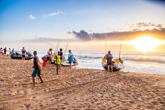 Wschodu słońca styl życia Zdjęcie Stock