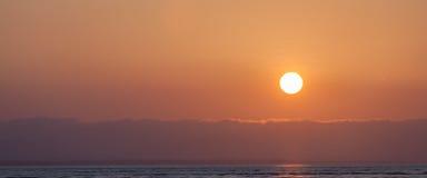 Wschodu słońca szczegół zdjęcia stock
