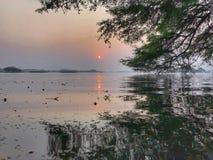 Wschodu słońca widok Zdjęcia Royalty Free