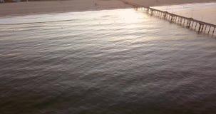 Wschodu słońca widok Los Angeles linia brzegowa zbiory wideo