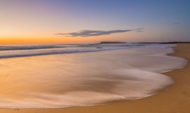 Wschodu słońca Windang plaża Obrazy Stock