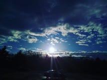 Wschodu słońca zmierzch Zdjęcia Stock
