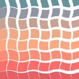 Wschodu słońca, zmierzchu rocznika tła gradientu abstrakcjonistycznego kolorowego gładkiego kędzioru geometryczny styl/ Obraz Stock