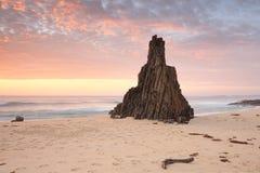 Wschodu słońca Meringo Eurobodalla park narodowy Obraz Royalty Free