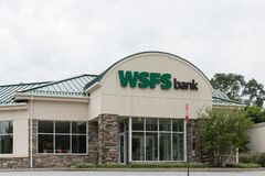WSFS银行前面, 库存照片