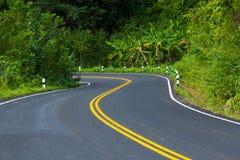 wsi droga Thailand Zdjęcie Stock