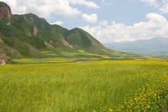 wsi góry Zdjęcia Stock
