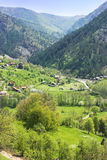 wsi góry sceneria obraz stock