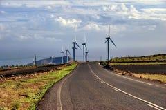 wsi gospodarstwa rolnego wiatr Obrazy Royalty Free
