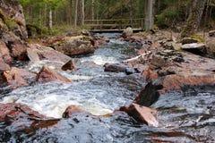 wsi rzeki szwedzi Zdjęcia Stock