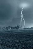 wsi zły pogoda Fotografia Royalty Free