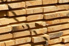 wsiada drewnianego Fotografia Stock