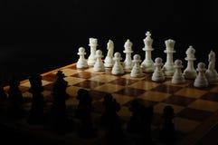 wsiada szachowych kawałki fotografia royalty free