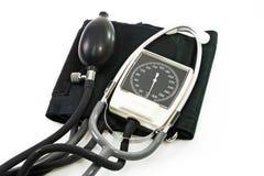 wskaźnik ciśnienia krwi Fotografia Stock