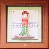 Wskaźnik mężczyzna pokój Obraz Royalty Free
