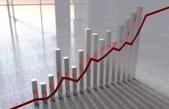 Wskaźniki ekonomiczni Fotografia Stock