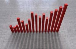Wskaźniki ekonomiczni Obrazy Stock