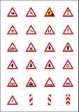 wskaźniki znaki drogowe Zdjęcia Stock