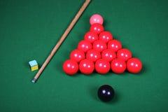 wskazówki snooker jaja Obrazy Royalty Free