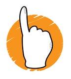wskazać ręce Zdjęcia Stock
