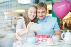 Współcześni valentines Fotografia Stock