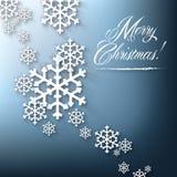 Współczesna Wesoło kartka bożonarodzeniowa ilustracja wektor