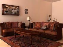 współczesny izbowy nasłoneczniony Obraz Royalty Free