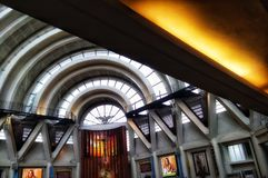 współczesny kościół obraz stock