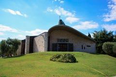 współczesny kościół Obrazy Royalty Free