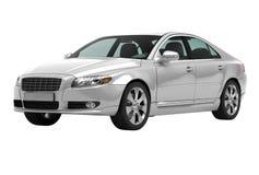 Współczesny luksusowy samochód odizolowywający Obraz Stock