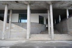 Współczesny miastowy widok z budynku tłem zdjęcie stock