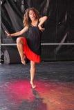 współczesny taniec Obraz Royalty Free