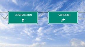 Współczucie i sprawiedliwość zdjęcie stock